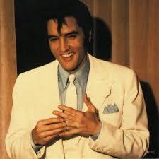 Elvis Presley, the first rock heart throb.