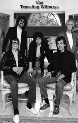 Roy with the Travelling Wilburys, n1988
