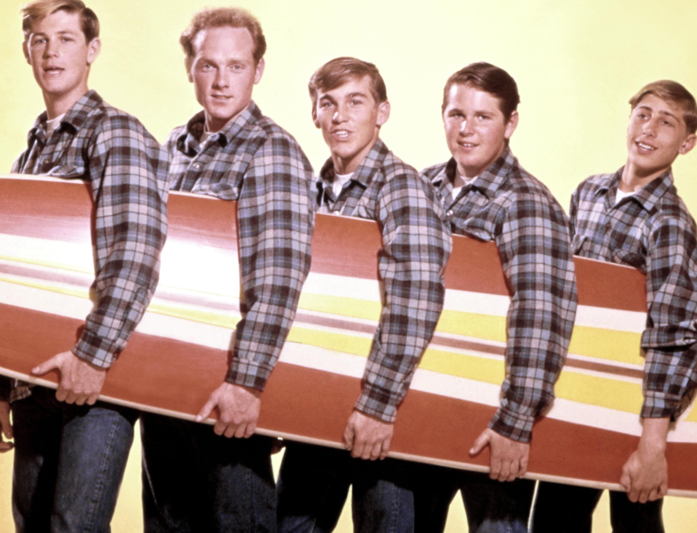 The start of the surf craze, The Beach Boys.