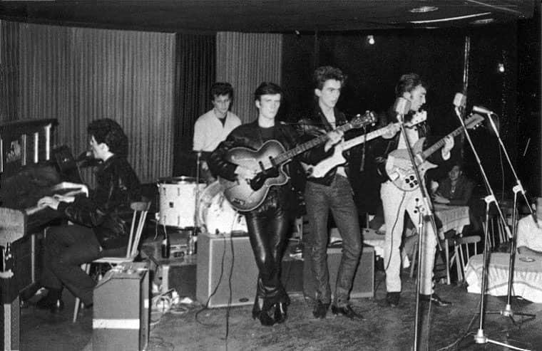 The Hamburg days, original line up.