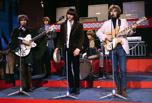 The Byrds on a U.S. Television appearence.