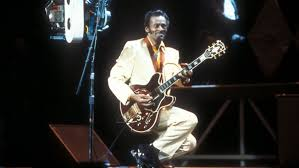 Chuck Berry, one of the first artists to write his own materiel.
