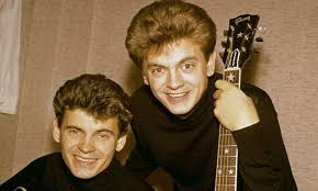 The Everly Brothers brothers early image.