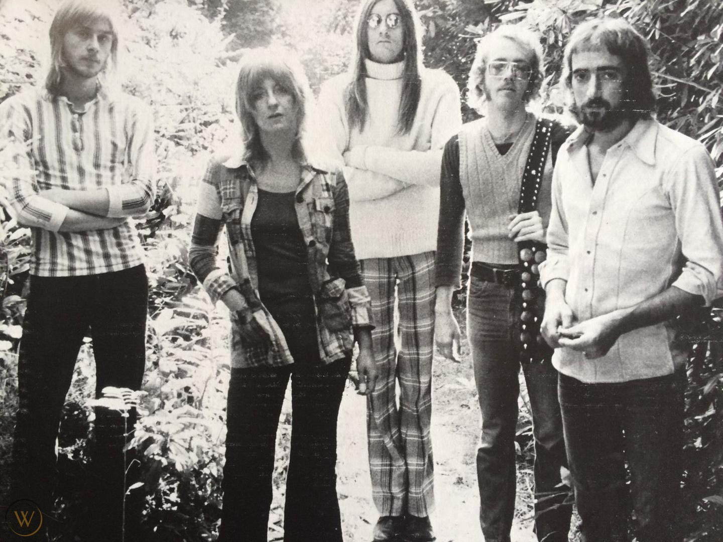 The Fleetwood Mac line up without Green and Spencer.