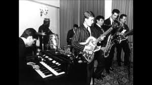 Georgie Fame and the Blue Flames playing at the Flamingo in1964