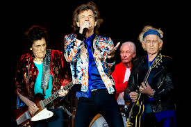 The latest Rolling Stones line up with Ronnie Wood.