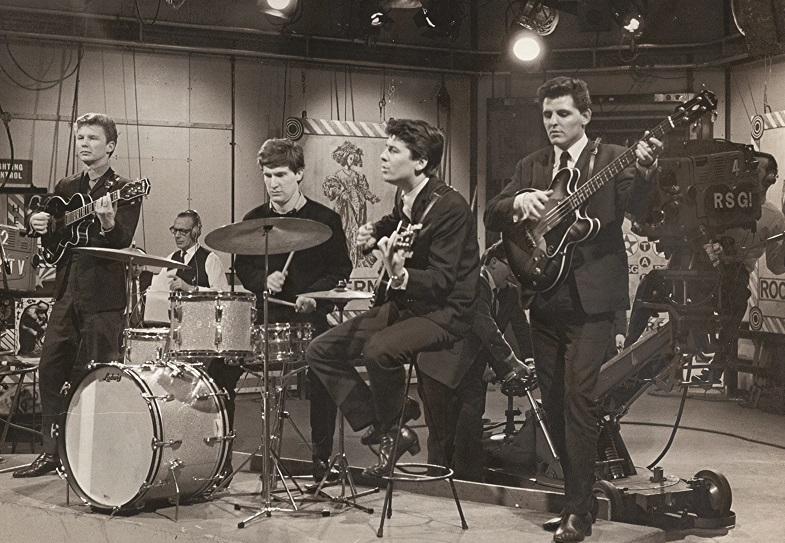The Searchers on the Ready, Steady, Go! T.V. show.