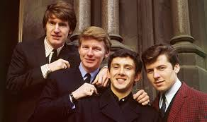 The Searchers, tight harmonies and clean image, were for a while the second most popular group in Liverpool.